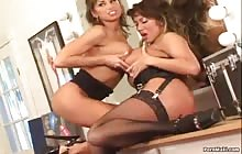 Voluptuous Vixens 1  S3 with Ava Devine and Devon Michaels