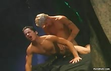 Horny hunk gets banged by a gay cock with Bryan Archer and Billy Brandt