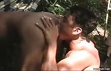 Sexy Latino gets his butt screwed by a gay cock
