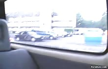 Amateur MILF gets fucked in the car