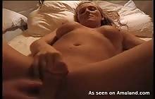 Busty Swedish GF fucks and masturbates her pussy