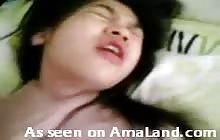 Asian girl fucking caught on cellphone video