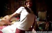 Amanda dancing