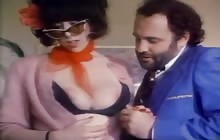Busty Annie Sprinkle gets fucked for a facial