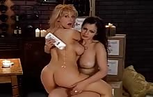 Hot Aria Giovanni and Danni Ashe have great fun together