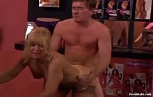 Hard At Work s5 with Nina Hartley, Kyle Stone, Jonathan Morgan and Melanie Stone