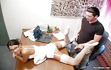 Hot sex at the office with Alexa Von Tess