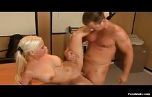 Naughty Blonde MILF Librarians S1 with Eric Masterson and Brandy Aniston