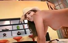 Black dude bangs Bobbi Starr's sexy ass