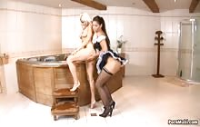 Naughty Spanish Maids 1 s3 with Defrancesca Gallardo, Lauro Giotto and Stacy Silver