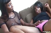 Lesbian Ebony Amateurs 7 s3 with Delilah Strong and Classy