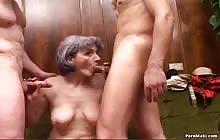 Sex And The Village Idiot scene 01 with Giovannino, Halco and Patrizia