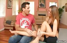 Teacher leave them teens alone 2 S 3 with Manuel Ferrara and Megan Fenox